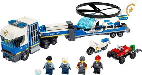 Lego City Police Helicopter Transport 60244 In 2020 Lego City Police Helicopter Lego City Lego City Police