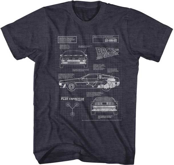 Car Blueprint Tee