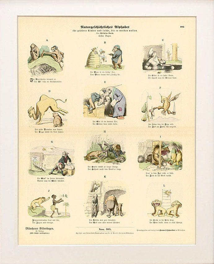 Auto Design Tech: Illustrations De Wilhelm Busch