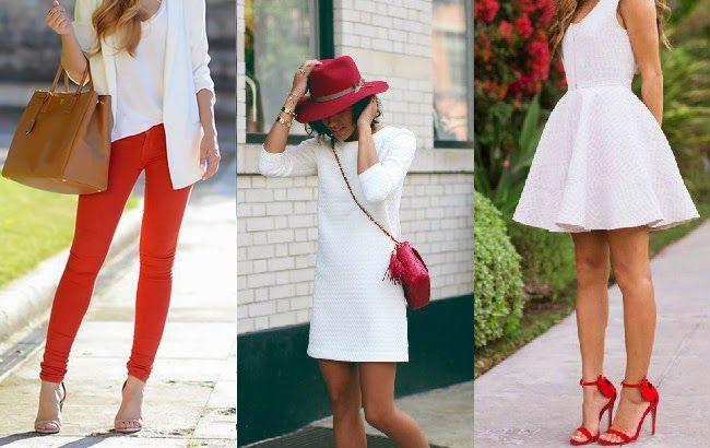 Mais vermelho e branco