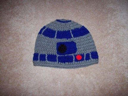 R2-D2 Crochet Beanie | Matthew | Pinterest | Trapillo, Quiero y Tejido