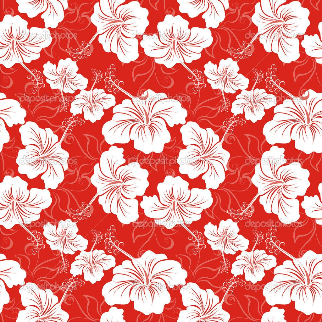 hawaiian flowers background Home