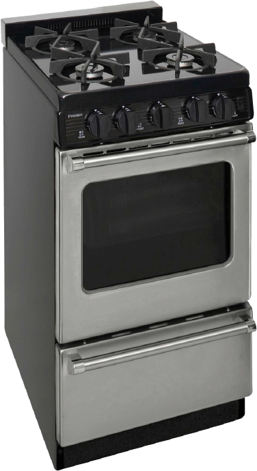 Premier Pro 20 Freestanding Natural Gas Range Stainless Steel P20s3102ps In 2020 Oven Burner Tiny House Appliances Oven Racks