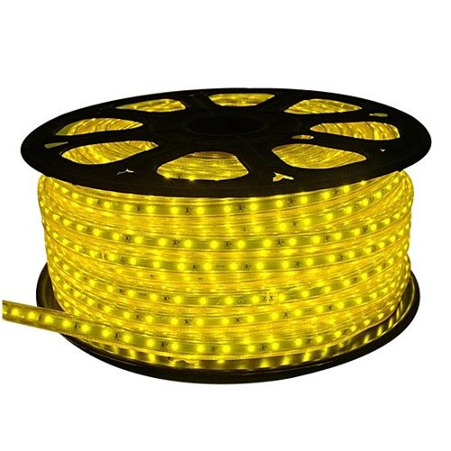 120Volt Cuttable Design Yellow Brightness Waterproof LED Rope Lights.UL  Listed 150Ft Strip Light For Background Lighting,outdoor Decorative  Lighting ...