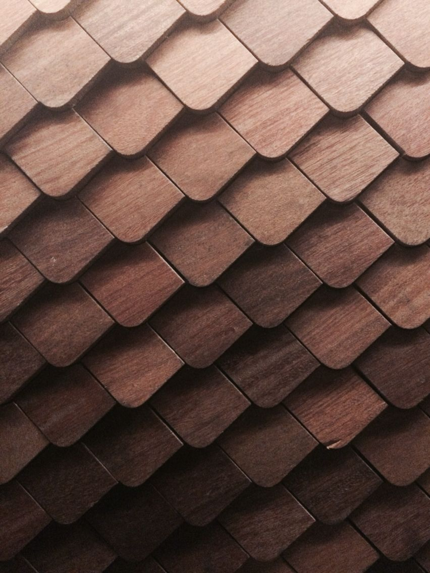 Wood scales