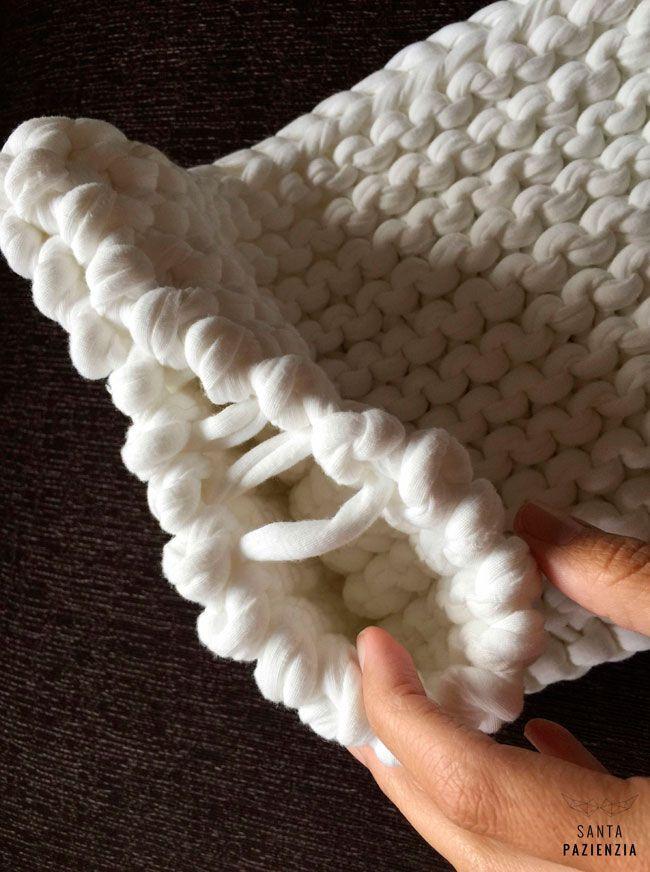 Blog sobre trapillo diy tejer crochet ganchillo - Puntos crochet trapillo ...