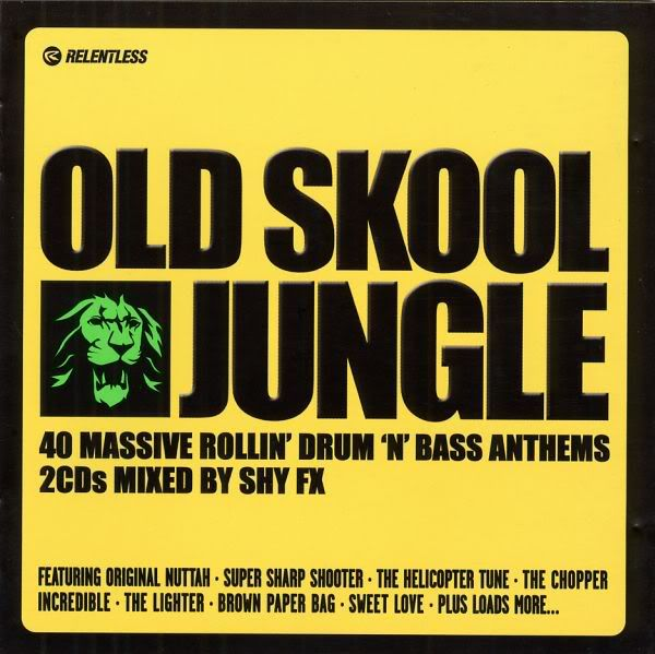 Old Skool Jungle Mixed By Shy Fx Drum And Bass Old Skool Jungle Music