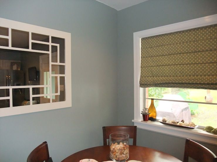 Painted Our Living Room Dining And Kitchen This Color Since All 3 Are Connected The Grey Undertones Give Grey Paint Living Room Living Room Paint Home Decor