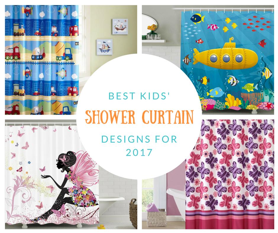 Best Kids Shower Curtain Designs For 2017