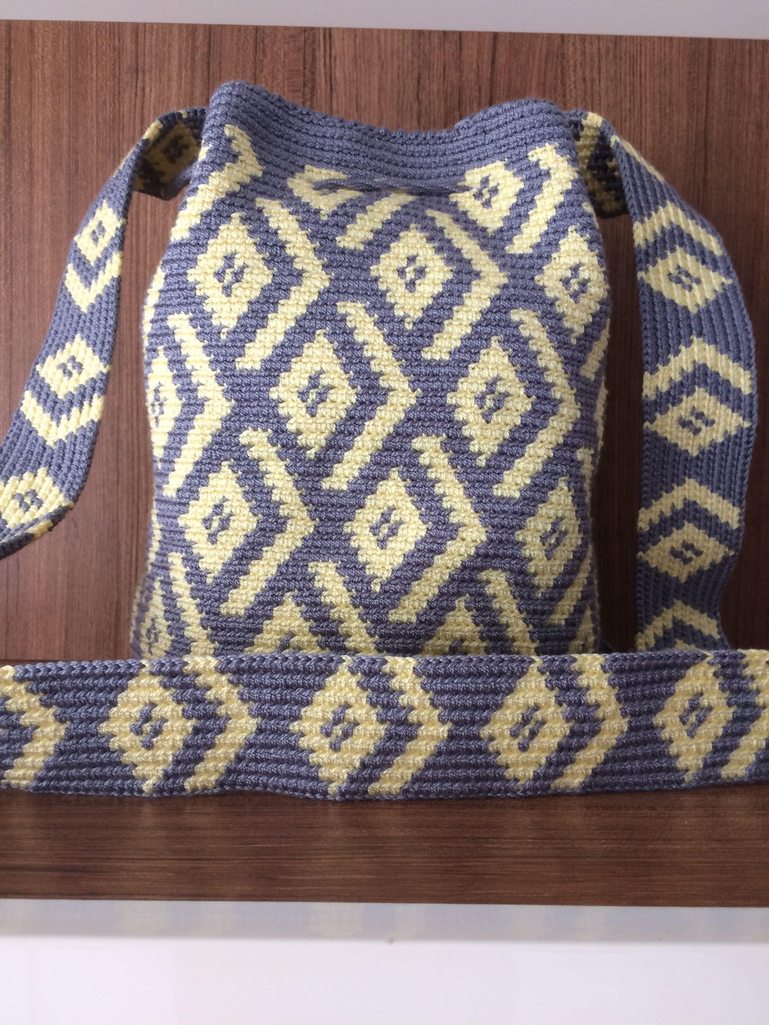 Pin von Margarita Corchado auf Tapestry crochet | Pinterest | Tasche ...