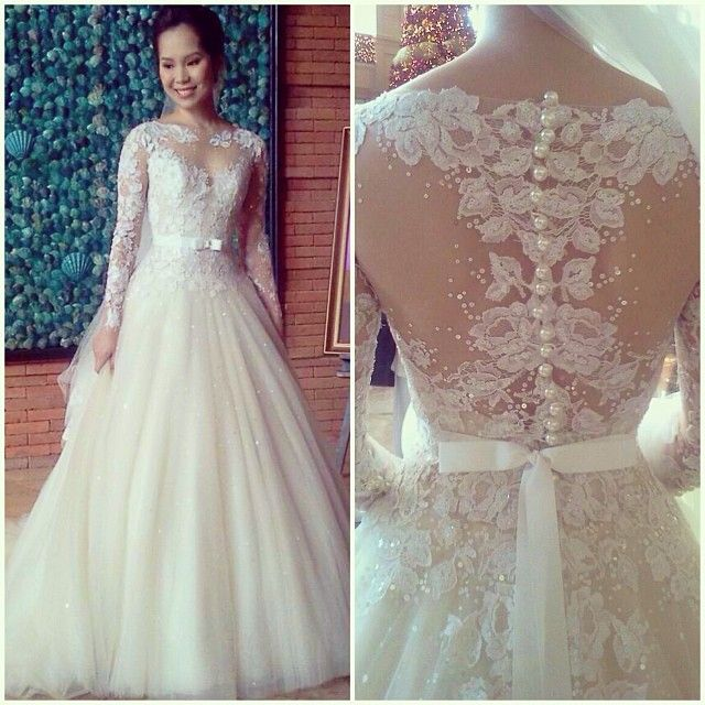Custom Made Wedding Gowns In Philippines By Veluz Reyes