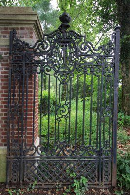 Another Beautiful Gate Wrought Iron Window Boxes Old Gates