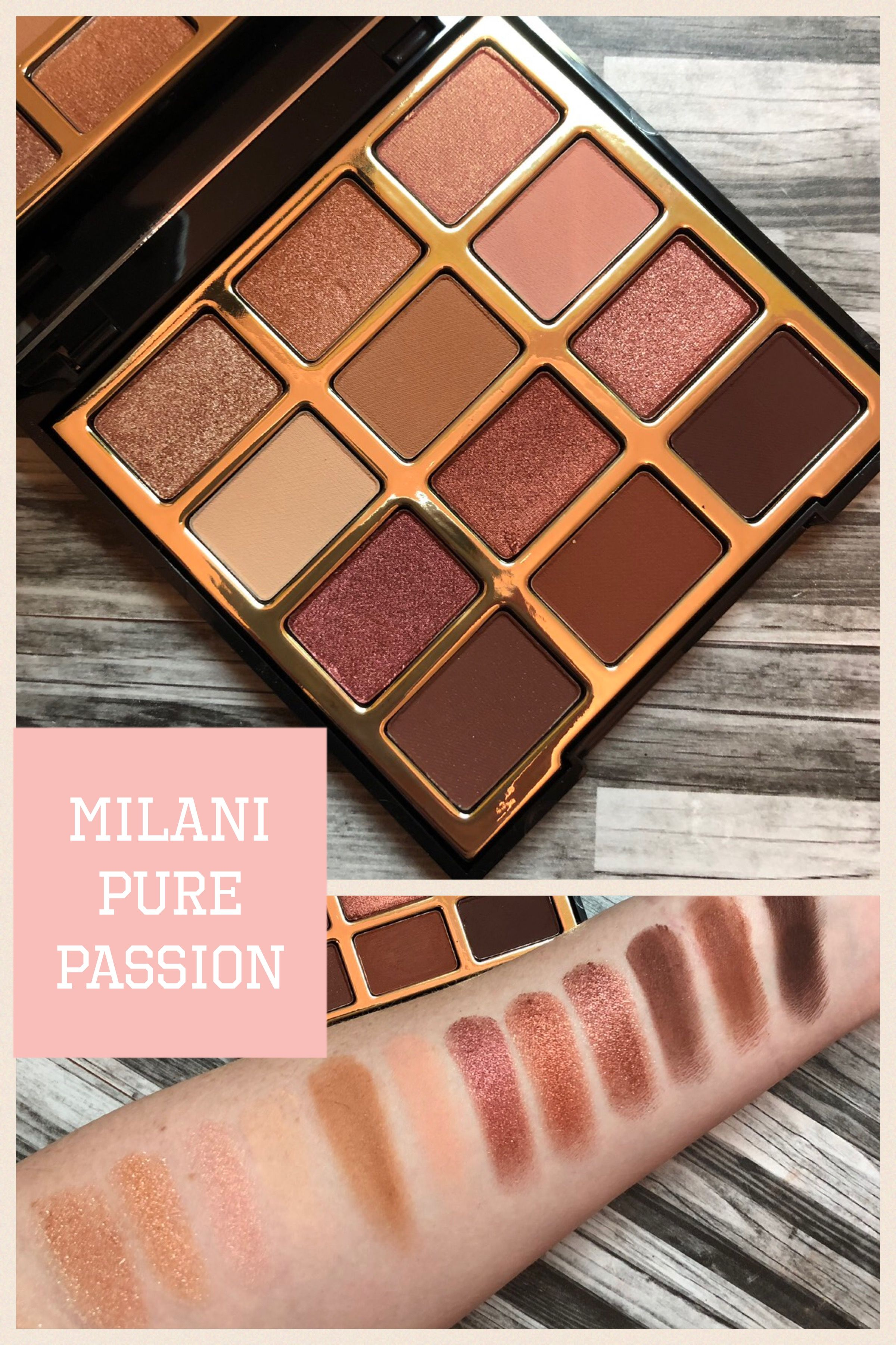 Photo of Milani Pure Passion (Review and Swatches) Drugstore Eyeshadow