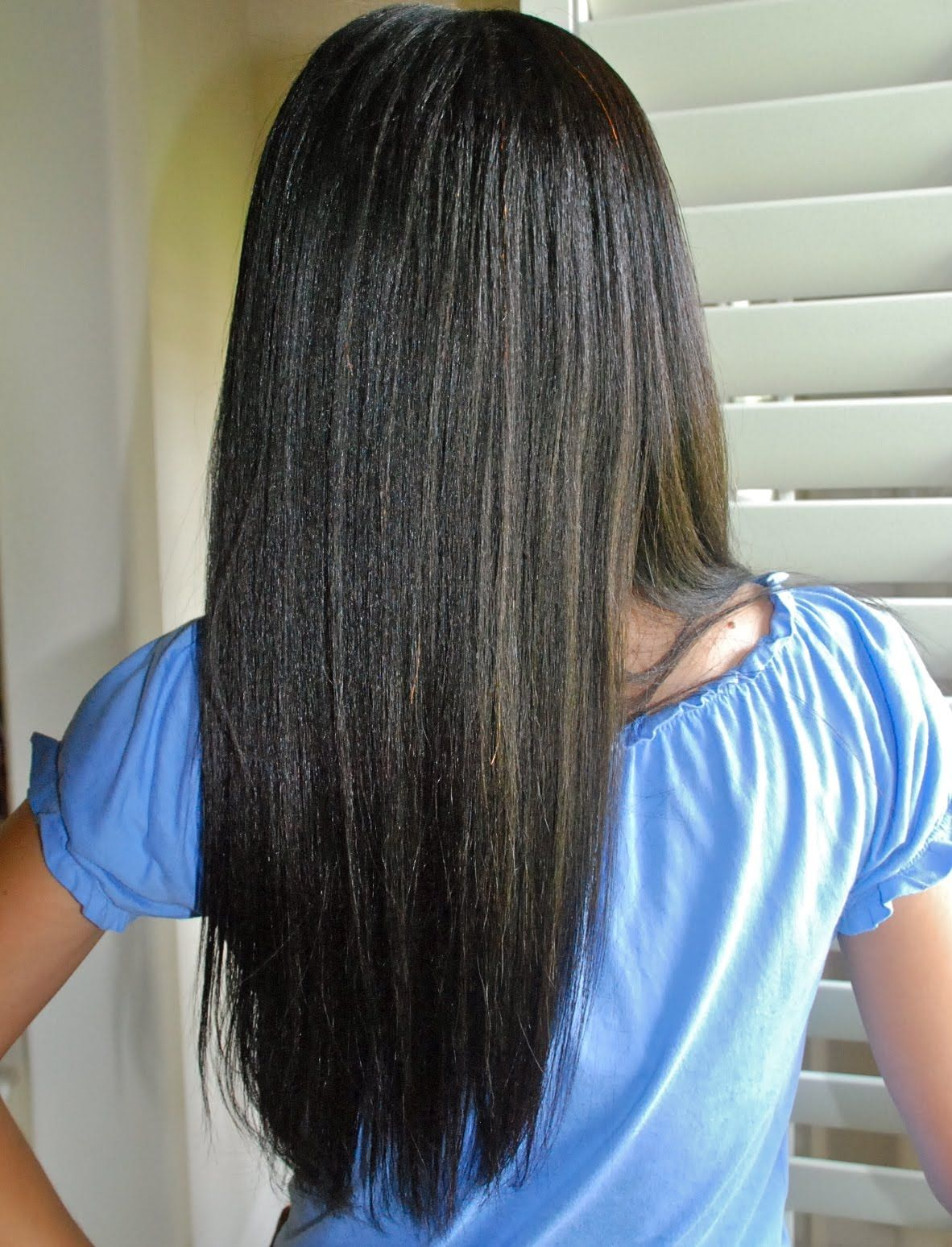 how often to wash black relaxed hair