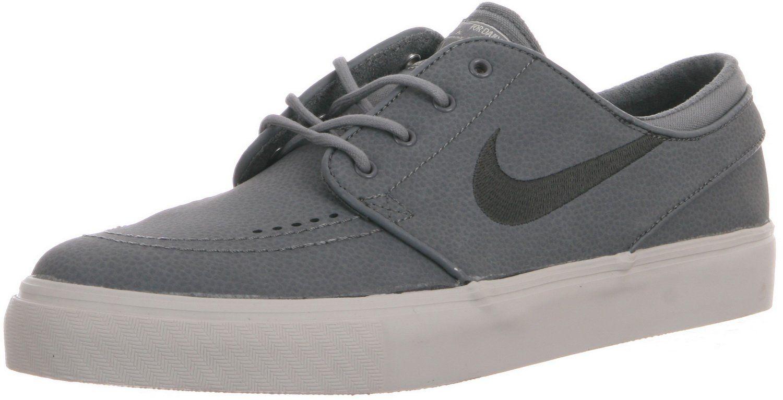 4ce7c43e3c0e Amazon.com  Nike SB Zoom Stefan Janoski Leather - Cool Grey    Anthracite-Light Bone