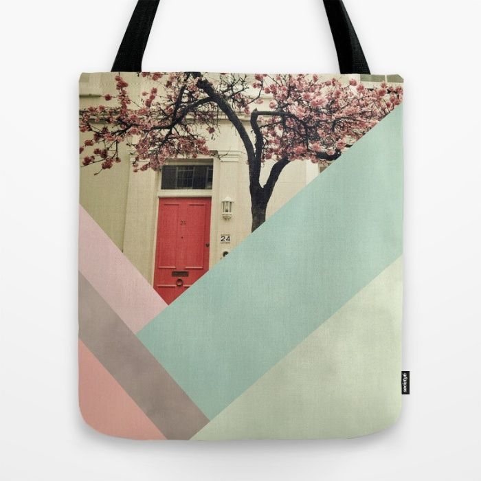 VIDA Tote Bag - Wood Nouveau by VIDA Vga8GPq