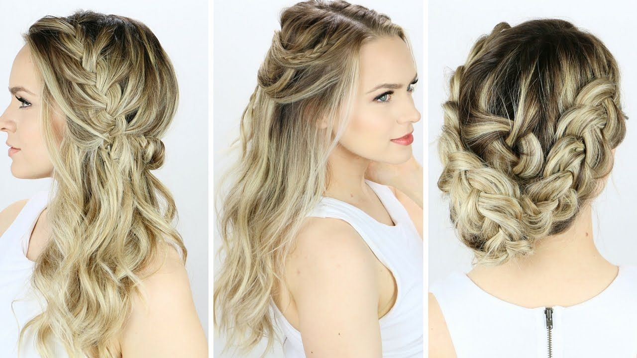 3 prom or wedding hairstyles you can do yourself