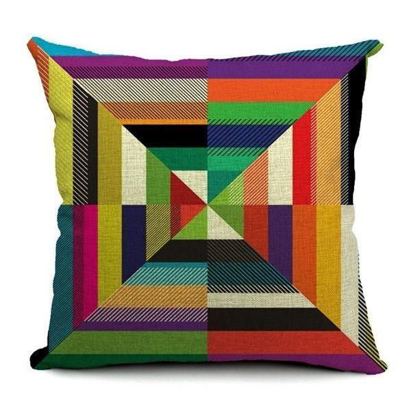 Paisley Cotton Linen Cushion Cover Bohemian Style Car Sofa Pillowcase Throw Pillow Cover Home Decor