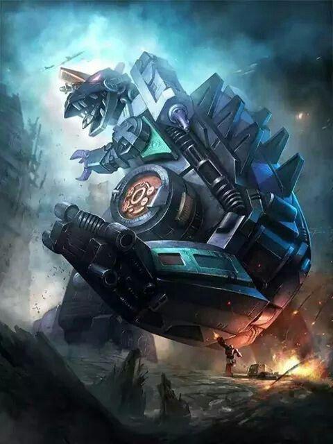 Decepticon Tyrpticon Artwork From Transformers Legends game