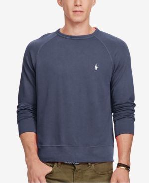 97dafe1cb Polo Ralph Lauren Men s Spa Terry Sweatshirt - Aviater Navy XXL ...
