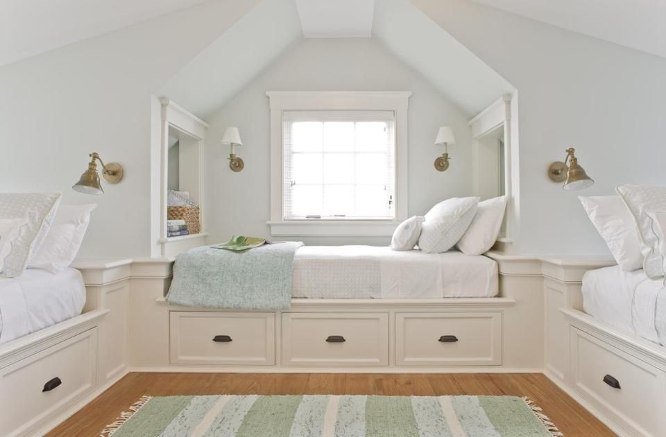 Beachy keen the boston globe home built in bed bunk room