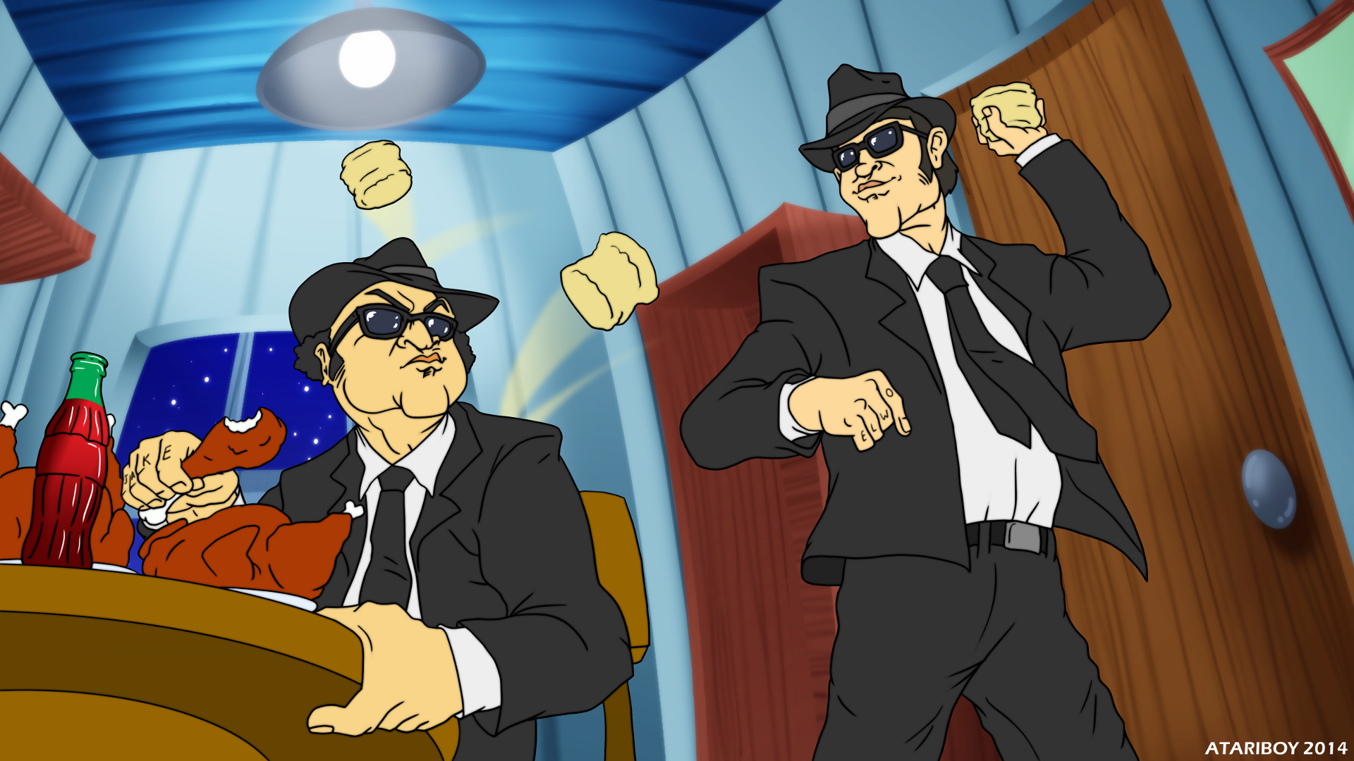 Rubber Biscuit By Atariboy2600 On Deviantart Blues Brothers Blues Brothers 1980 Rubber