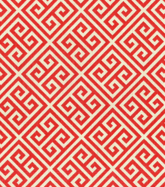Home Decor Print Fabric Waverly Groovy Grille Licorice Joann