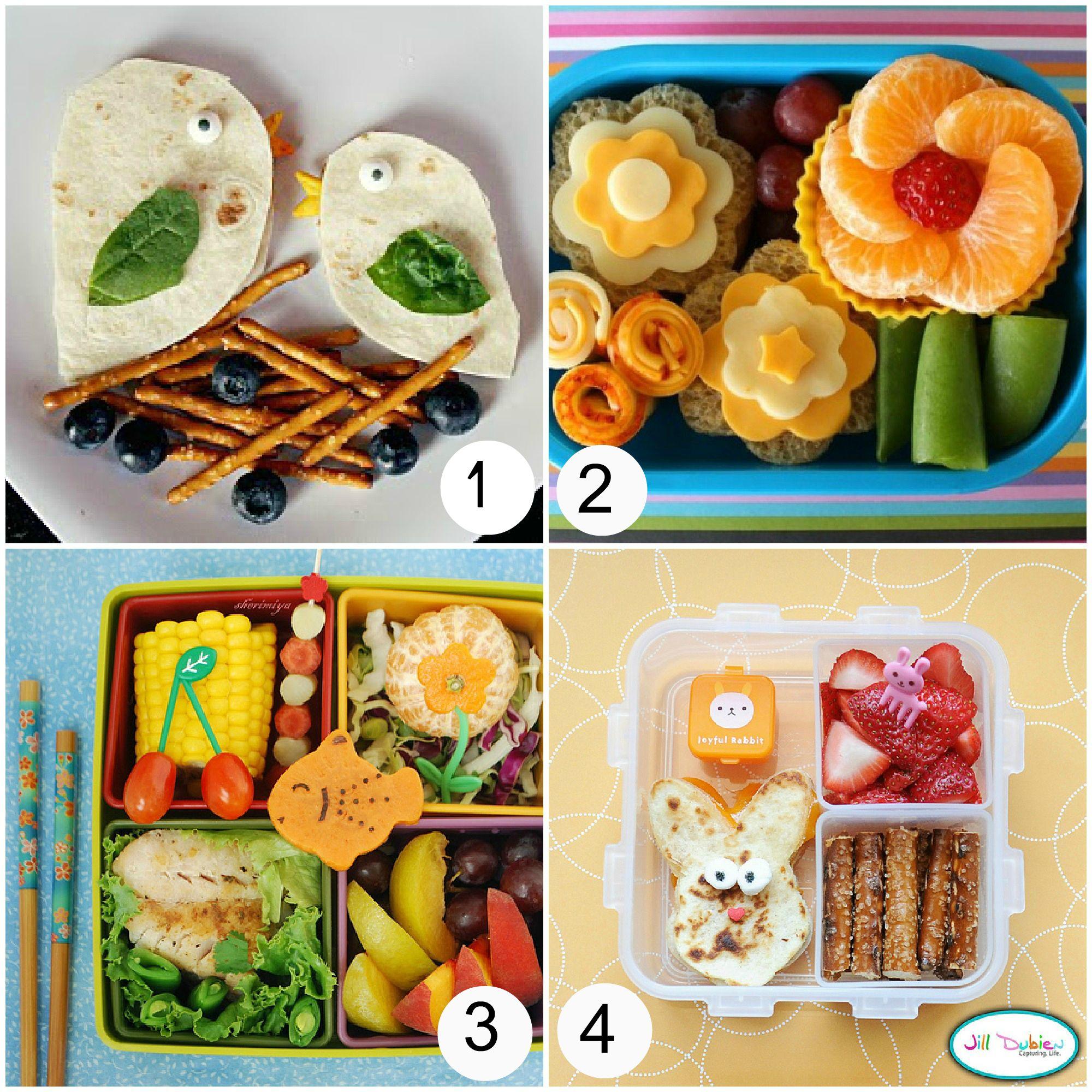 Fun Spring And Easter Bento Boxes