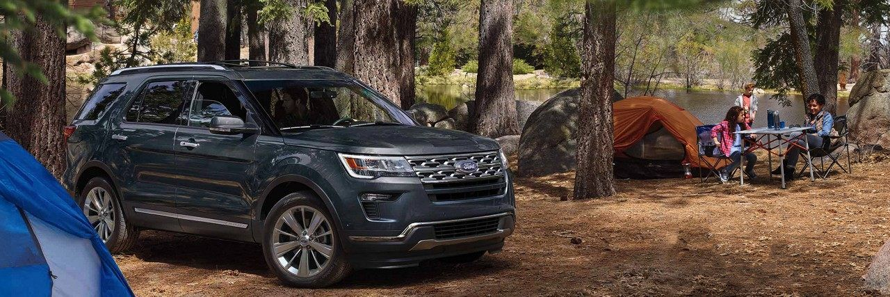 Available enhanced active park assist gives Explorer the