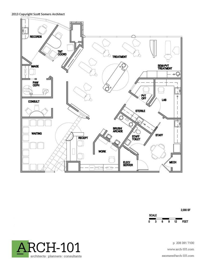 Orthodontic office floor plans magness ortho pinterest for Office floor plan