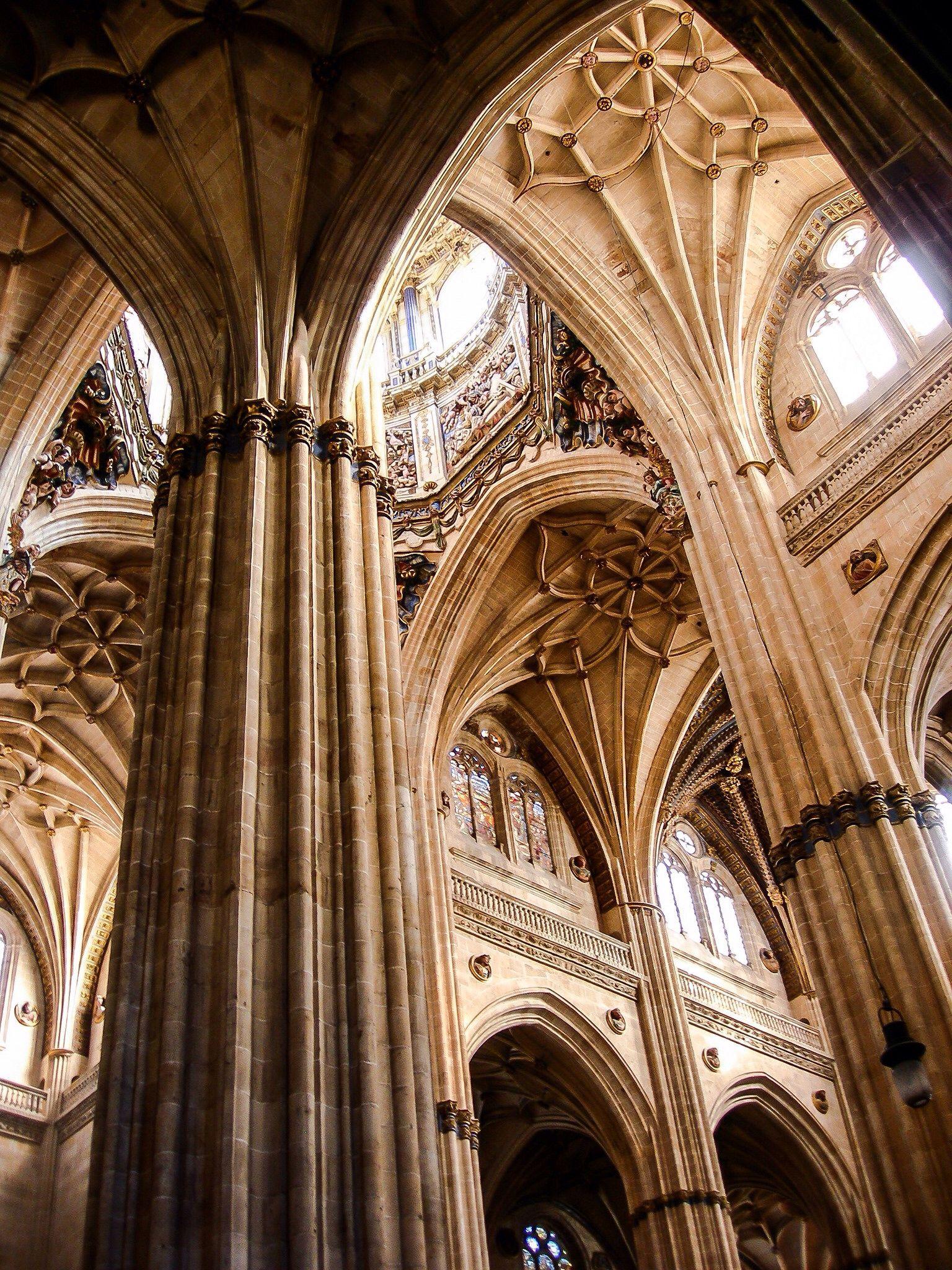Interior De La Catedral De Salamanca Salamanca Spain Cathedral Barcelona Cathedral Salamanca