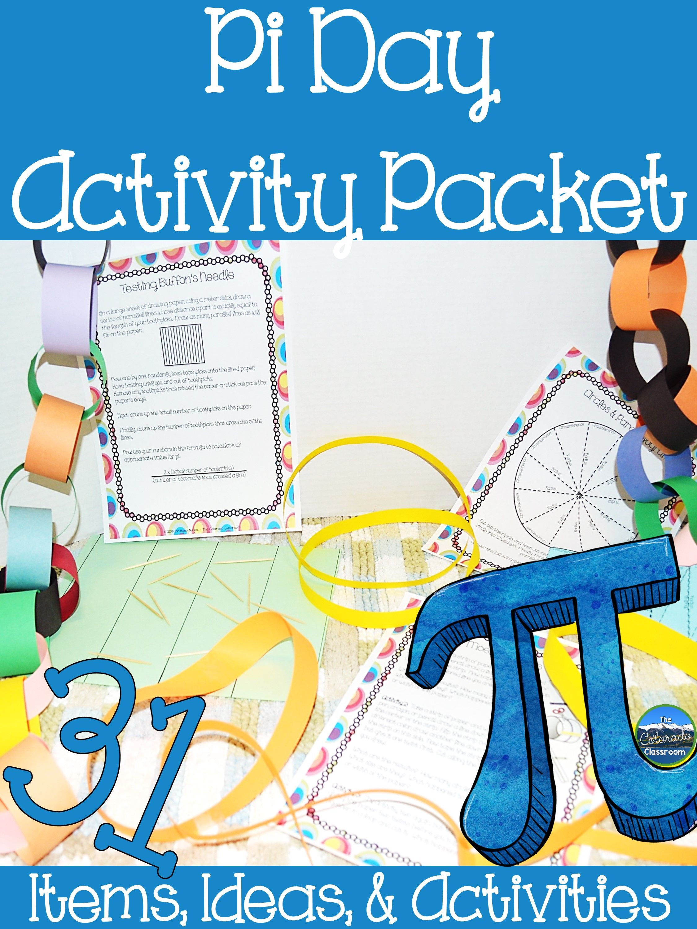Pi Day Activity Packet In