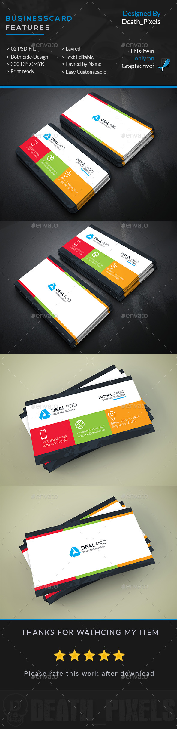 Multi color corporate business card business cards print templates multi color corporate business card business cards print templates download here reheart Gallery