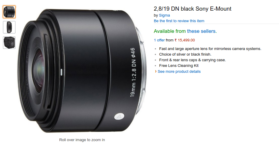 Twitter Art Lens Sony E Mount Lens