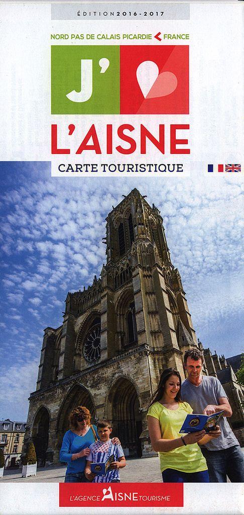 https://flic.kr/p/LXrWHP | L'Aisne Carte Touristique Edition 2016-2017_1; Picardie r., France