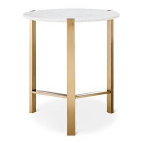 Marble Amp Gold Accent Table Nate Berkus Target Red