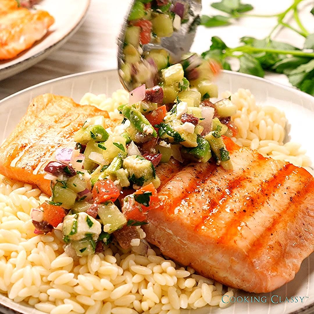 This is one of the best ways to make salmon! Healthy, flavorful and seriously delicious!