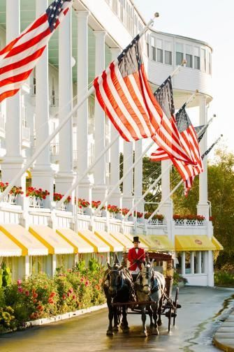 Preserved history creates a soul-reviving escape on Mackinac Island, the Les Cheneaux Islands and the mainland's Mackinaw City. Details: http://www.midwestliving.com/travel/michigan/two-day-getaway-the-mackinac-region