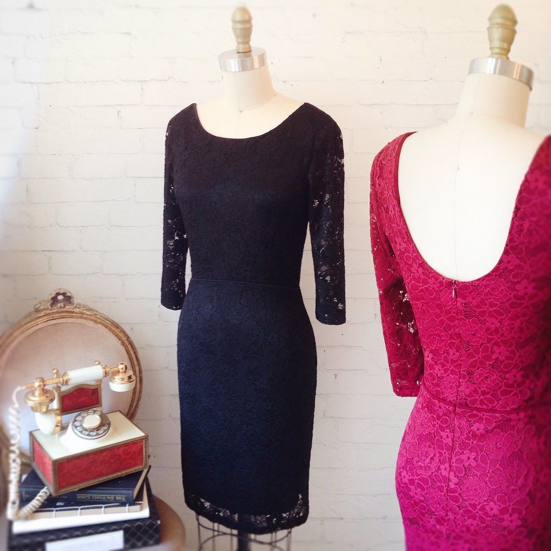 Nelia Aussi disponible en indigo sur www.1861.ca! #boutique1861 #lace #fallfashion #scoopback #cute #montreal #dress
