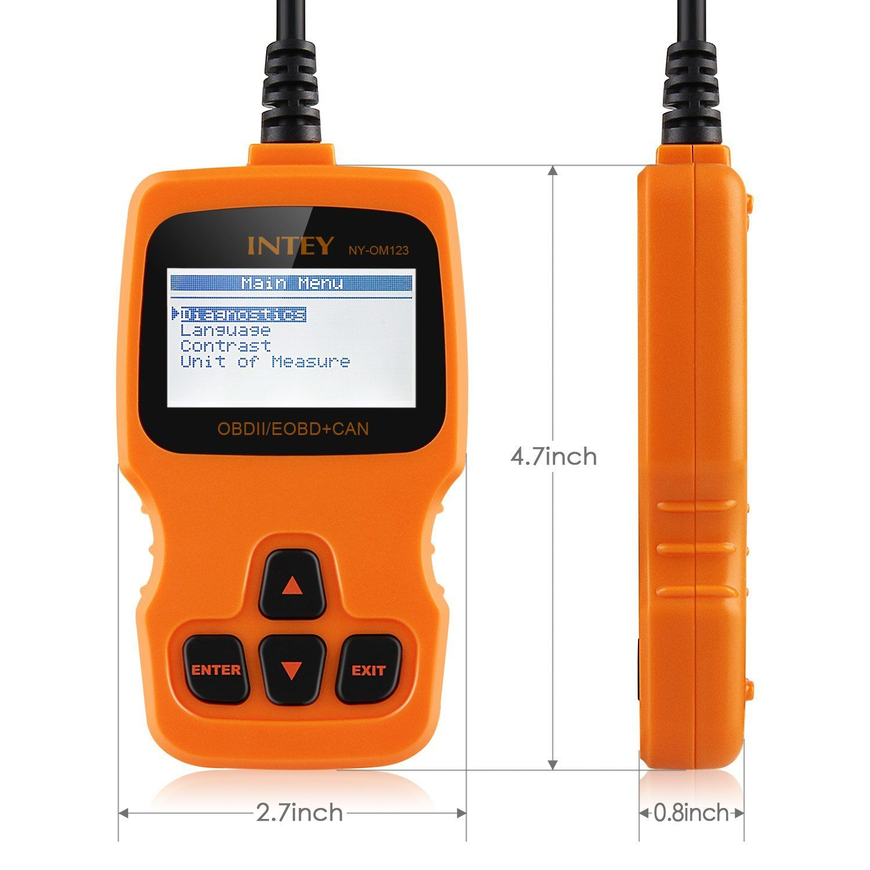 INTEY OBD2 Scanner Car Code Reader Vehicle