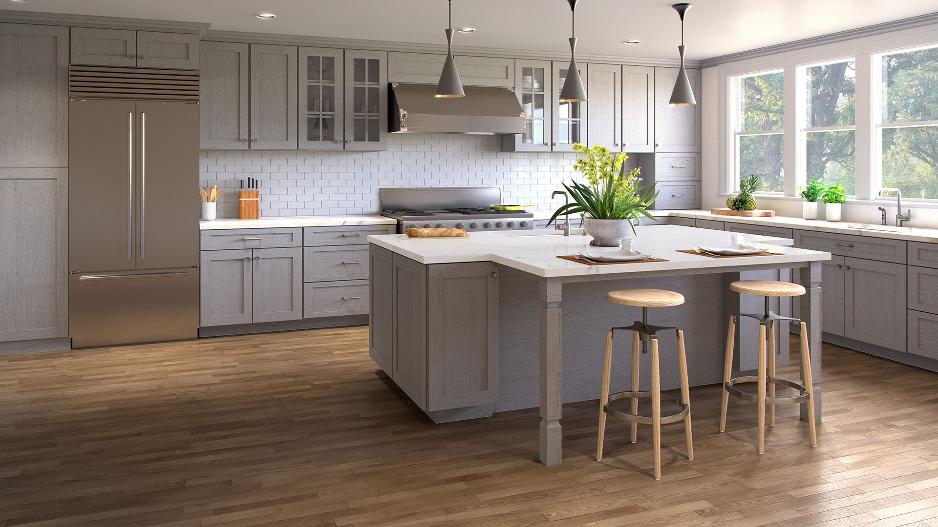 Best Nova Light Grey – Forevermark Cabinetry With Images 400 x 300