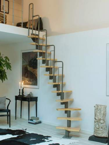 Best Deluxe Modular Space Saving Staircase In 2020 Space 640 x 480