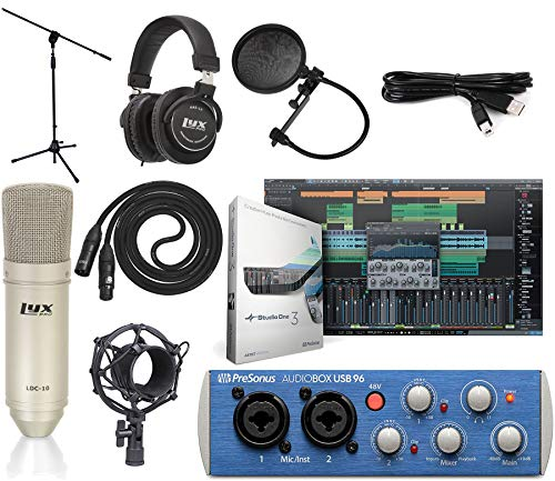 Get Everything You Need In One Box And Start Recording Straight Away Zero Latency Monitoring Via Internal Analog Mixer In 2020 Upload Music Audio Recording Headphones