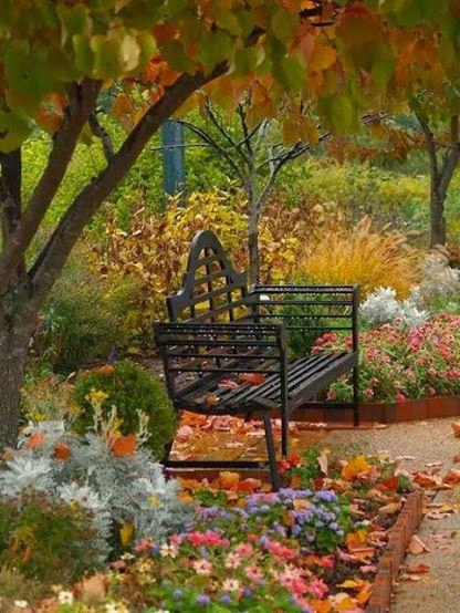 Image By Islam Limanoski Autumn Garden Beautiful Gardens Garden