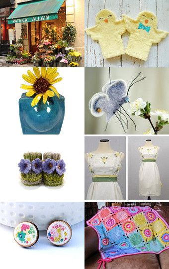 Spring Time Cuties! by Kat Selvaggio on Etsy--Pinned with TreasuryPin.com
