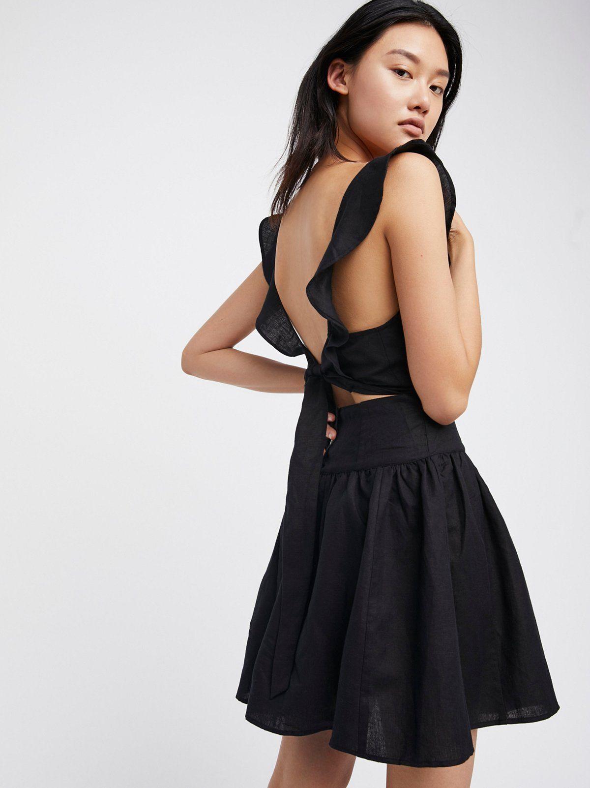Erin Mini Dress - Femme And Flirty Lightweight Mini Dress