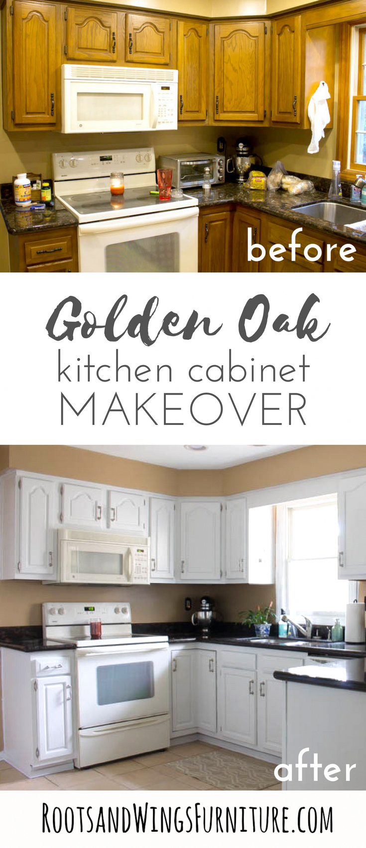 Makeover your kitchen with this painted kitchen cabinet ...