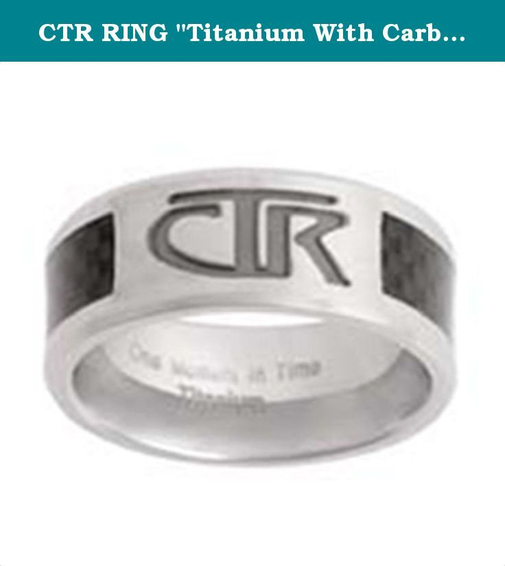 Ctr Ring Titanium With Carbon Fiber Inlay Titan J113 10 Ctr Ring Sales Offer Various Kinds Of Designing Ctr Rings C Ctr Rings Lds Jewelry Lds Ctr Rings