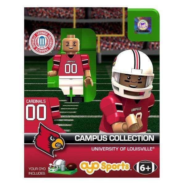 Louisville Cardinals Football Player Minifigure Oyo Sports G1LE NIB ...