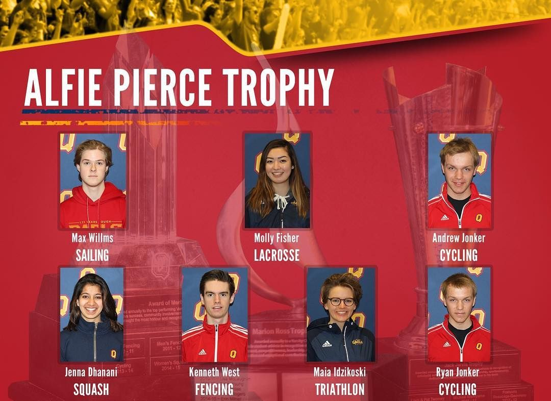 Congrats To Varsity Club Alfie Pierce Award Nominees For The Top Male Female Rookies Winners Announced Tonight At Colour Aw Instagram Posts Triathlon Congrats